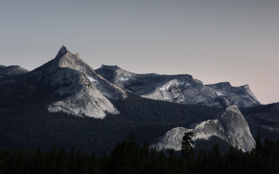 Yosemite (10s f/8.0 100ISO @100mm). Californie/2012